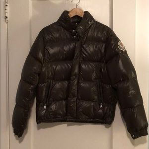 RARE Olive Color Moncler Puffer Coat